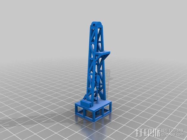 石油钻塔 3D模型  图10