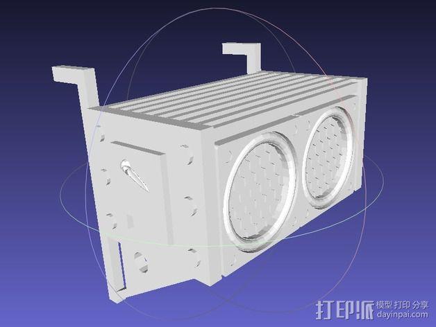 空气过滤器 3D模型  图1