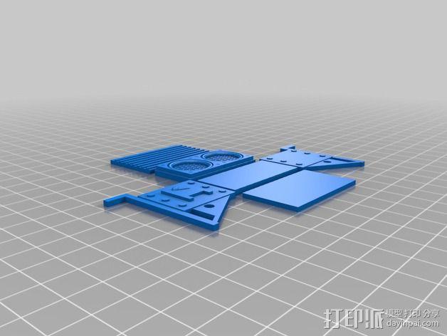 空气过滤器 3D模型  图2