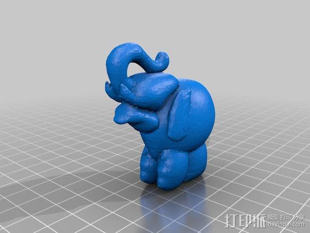 泰国大象 3D模型  图2