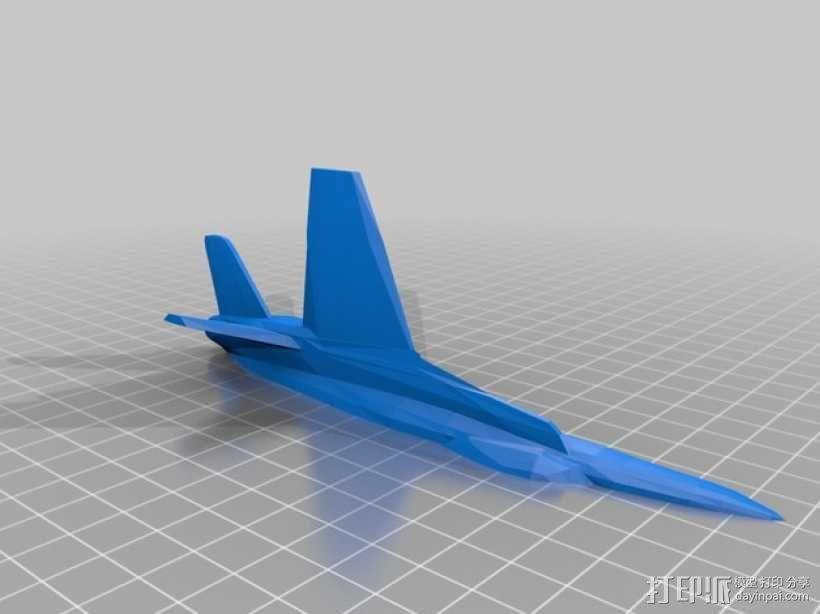 mc donnell喷射式战斗机 3D模型  图4