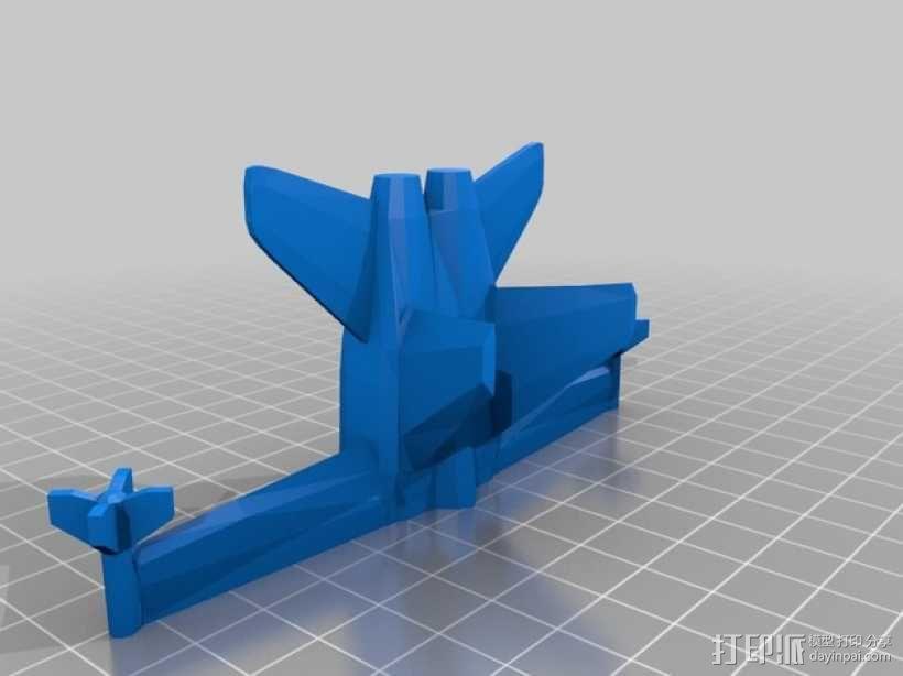 mc donnell喷射式战斗机 3D模型  图8