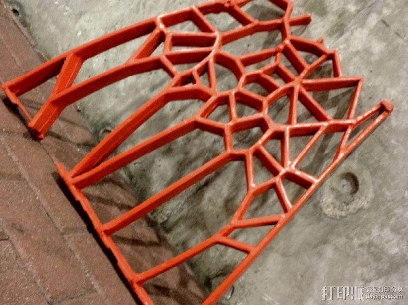 泰森多边形拱门 3D模型  图3