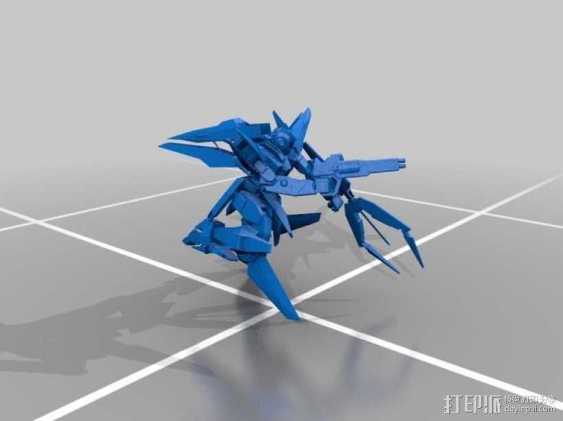 主天使高达 3D模型  图1