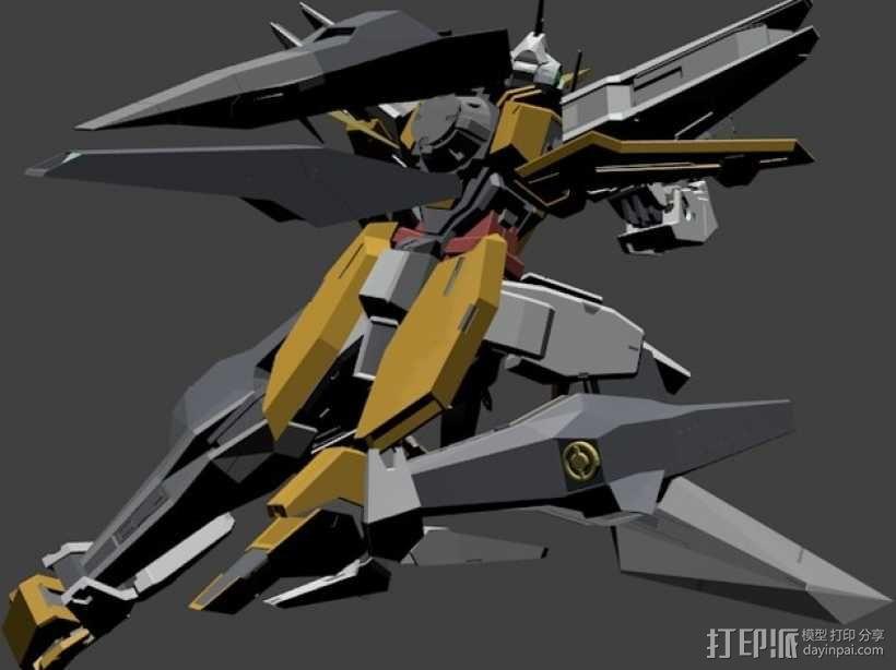 主天使高达 3D模型  图4