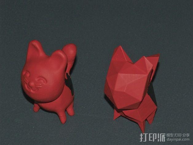 猫咪 3D模型  图4