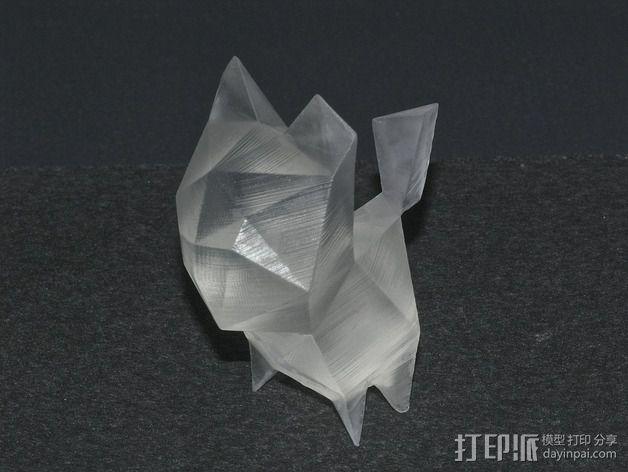 猫咪 3D模型  图3