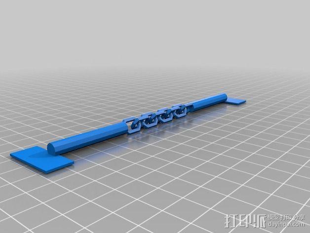 迷你双节棍 3D模型  图2