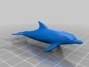 海豚 3D模型