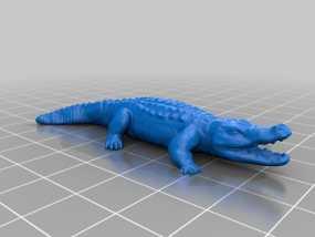 鳄鱼 3D模型
