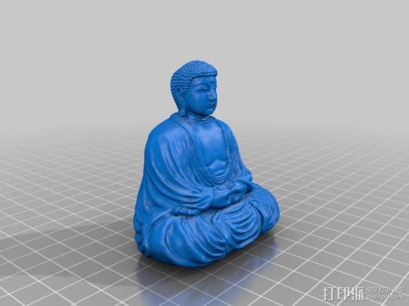 佛像雕塑  3D模型  图1