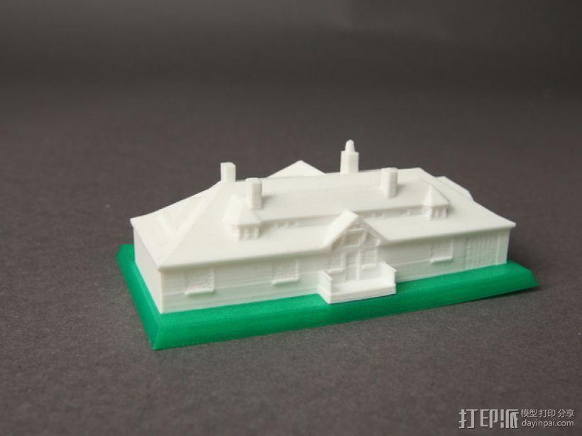 Innis Arden小屋 3D模型  图3