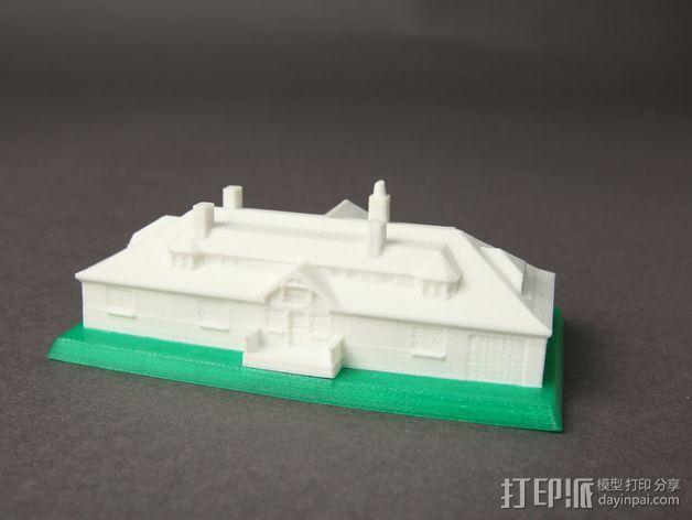 Innis Arden小屋 3D模型  图2
