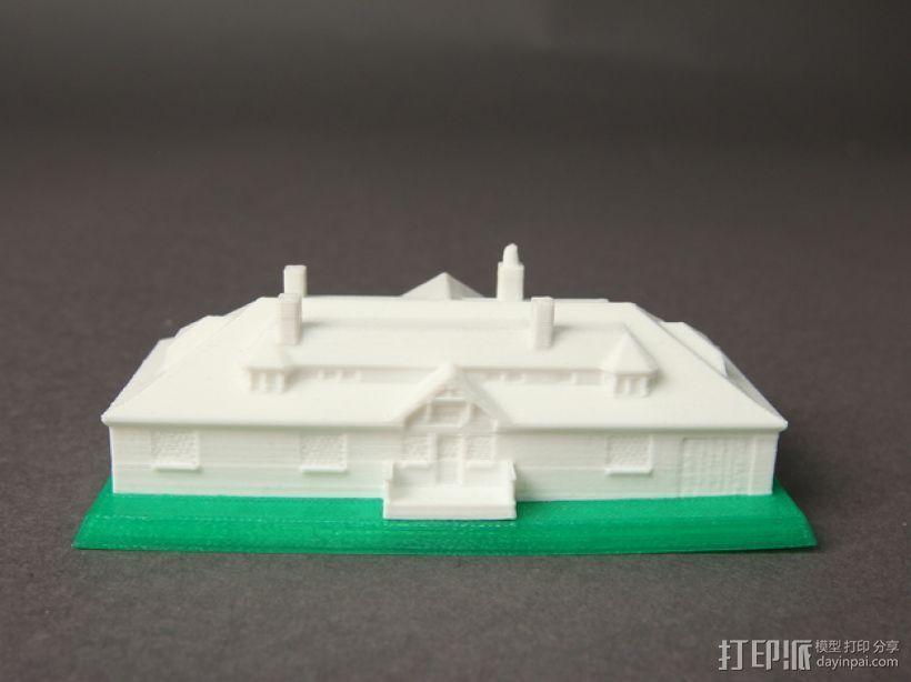 Innis Arden小屋 3D模型  图1