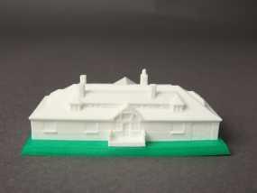 Innis Arden小屋 3D模型
