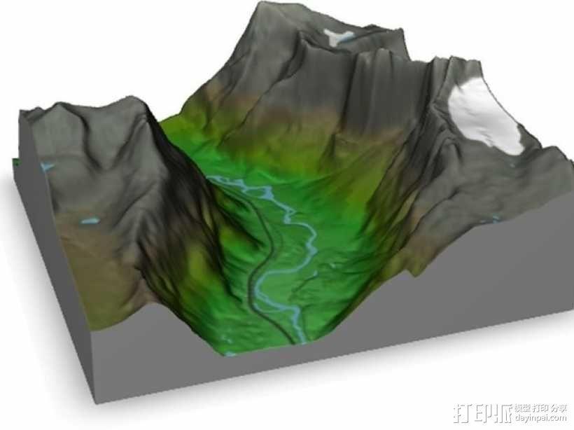 Troll Wall巨魔峰 3D模型  图2