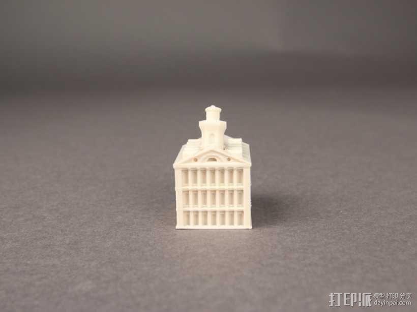 Faneuil Hall 大厦 3D模型  图1
