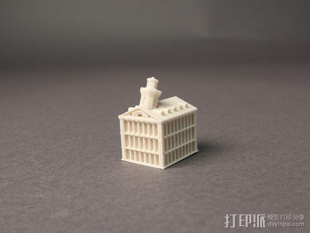 Faneuil Hall 大厦 3D模型  图2