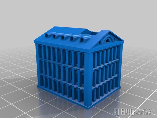 Faneuil Hall 大厦 3D模型  图4