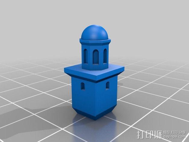 Faneuil Hall 大厦 3D模型  图3
