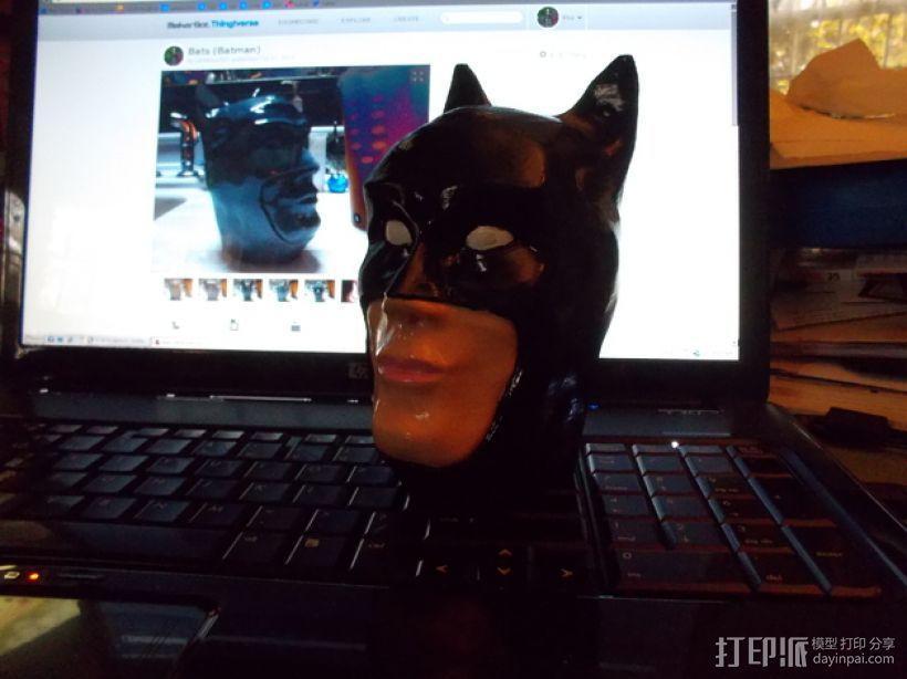 蝙蝠侠头部模型 3D模型  图1