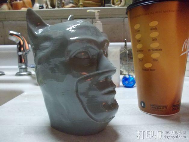 蝙蝠侠头部模型 3D模型  图2