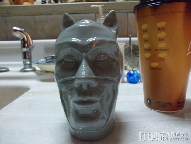 蝙蝠侠头部模型 3D模型  图6