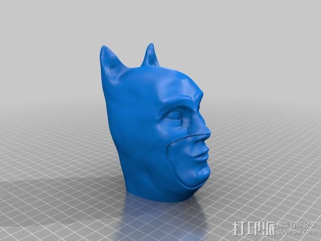 蝙蝠侠头部模型 3D模型  图10