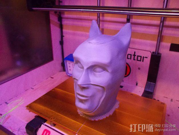 蝙蝠侠头部模型 3D模型  图9