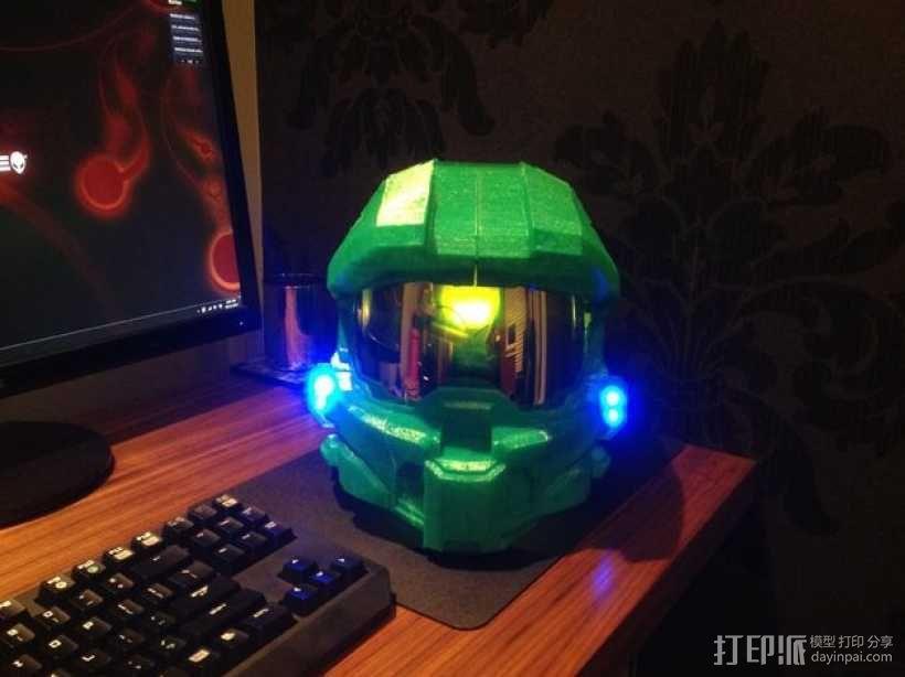 光晕头盔部件 3D模型  图3
