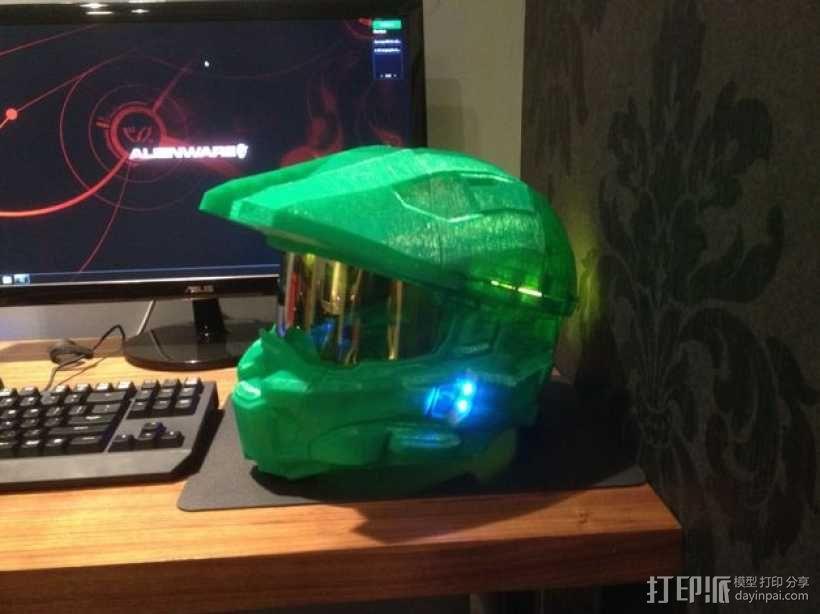 光晕头盔部件 3D模型  图4
