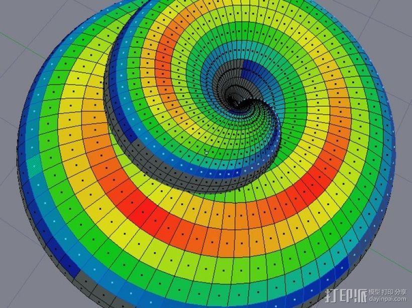 法国蜗牛壳 3D模型  图6