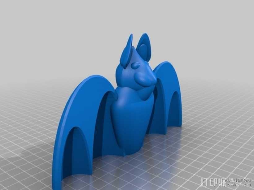 蝙蝠 3D模型  图2