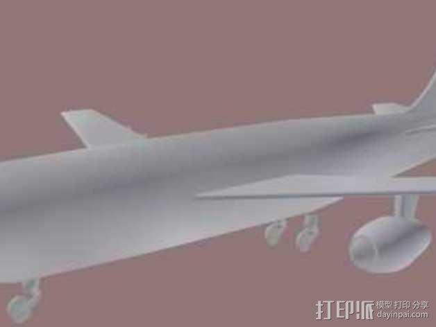 喷气式飞机 3D模型  图2