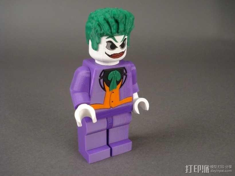 小丑 3D模型  图1