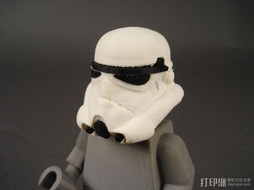 帝国风暴兵头盔 3D模型  图1