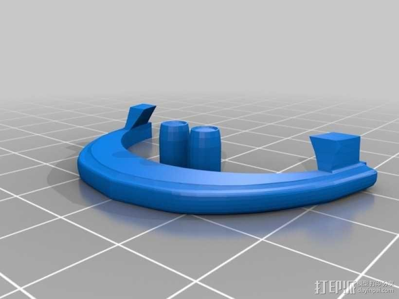帝国风暴兵头盔 3D模型  图3