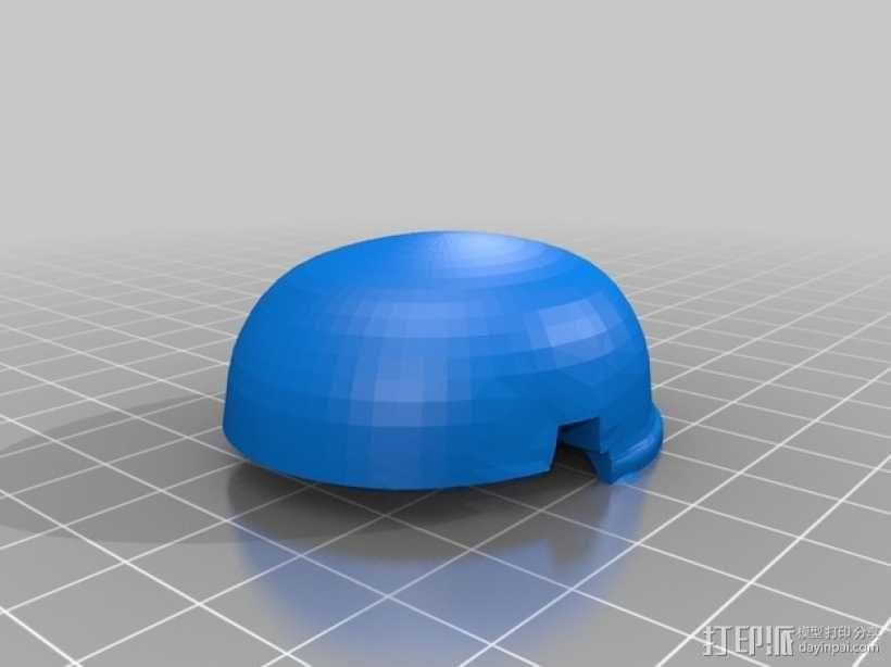 帝国风暴兵头盔 3D模型  图5