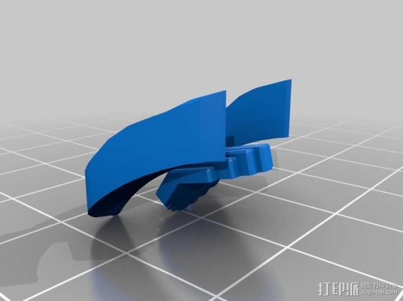 帝国风暴兵头盔 3D模型  图4