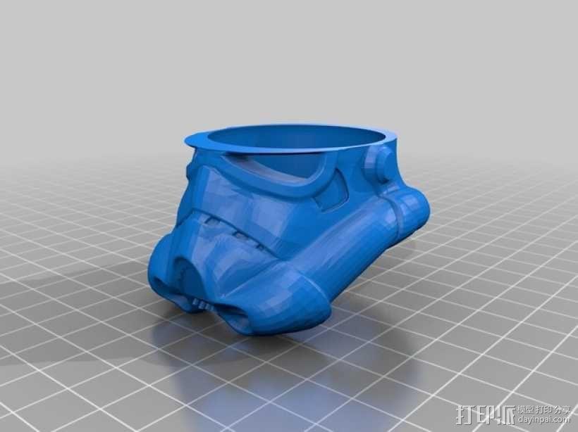 帝国风暴兵头盔 3D模型  图6