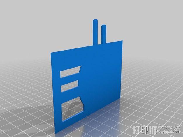 战争游戏建筑 3D模型  图6