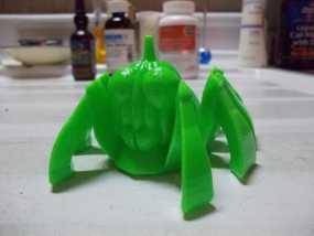 南瓜蜘蛛机器人 3D模型