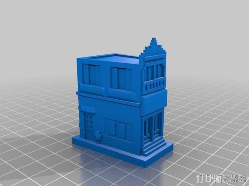 Esquina Caminito 建筑模型 3D模型  图2