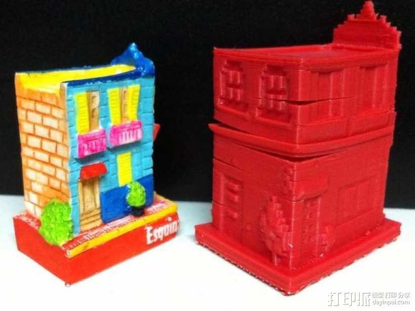 Esquina Caminito 建筑模型 3D模型  图4