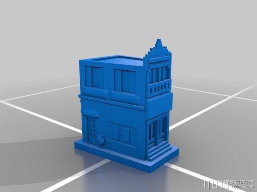 Esquina Caminito 建筑模型 3D模型  图3