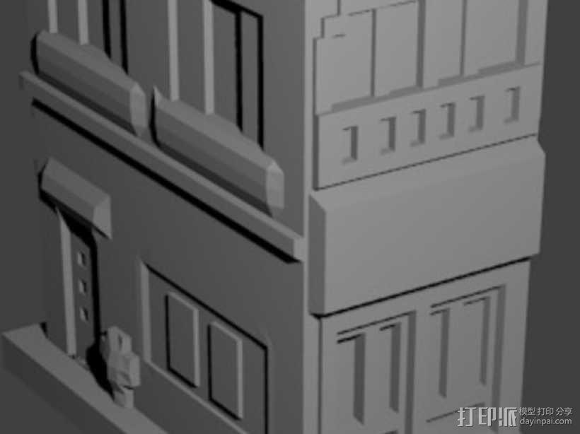 Esquina Caminito 建筑模型 3D模型  图5