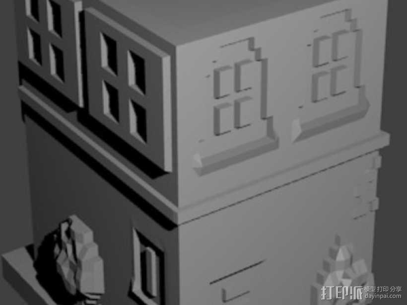 Esquina Caminito 建筑模型 3D模型  图9