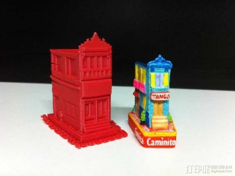 Esquina Caminito 建筑模型 3D模型  图7