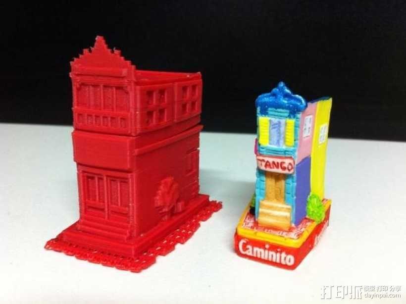 Esquina Caminito 建筑模型 3D模型  图8