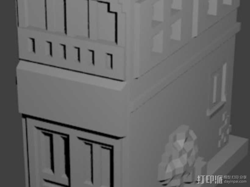 Esquina Caminito 建筑模型 3D模型  图6